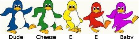 pingvinfamilj
